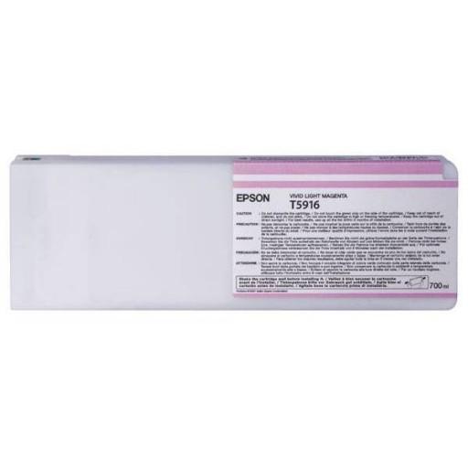 Epson C13T591600, T5916 Ink Cartridge, Stylus Pro 11880 - Light Magenta Genuine