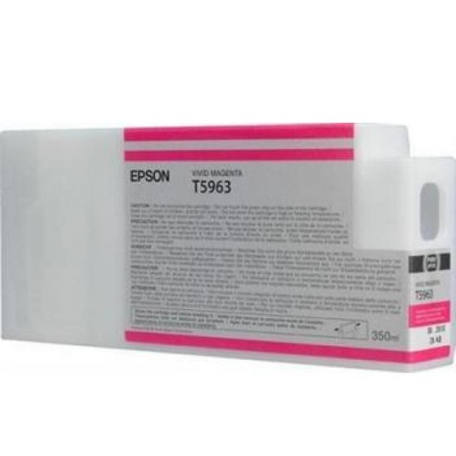 Epson C13T596300, T5965 Ink Cartridge, Stylus Pro 7700, 7890, 7900, 9700, 9890, 9900- Magenta Genuine