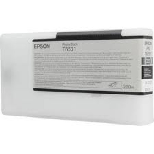 Epson C13T653100, T6531 Ink Cartridge, Stylus Pro 4900 - Photo Black Genuine
