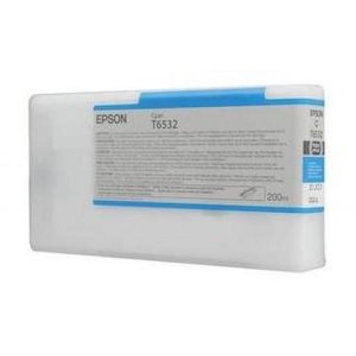 Epson C13T653200, T6532 Ink Cartridge, Stylus Pro 4900 - Cyan Genuine