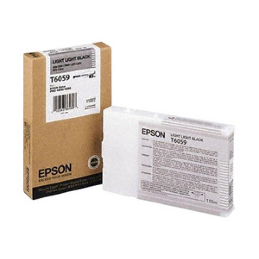 Epson T6059, C13T606700 Ink Cartridge, 4800, 4880 - Light Light Black Genuine