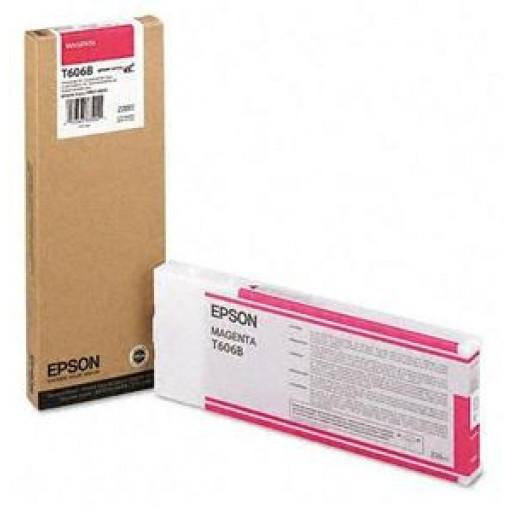 Epson T606B, C13T606B00 Ink Cartridge, 4800, 4880 - HC Magenta Genuine