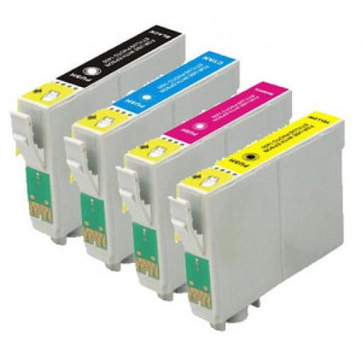 Epson T687 Ink Cartridge ValuePack, SC-S30600, SC-S50600 - 4 Colour Genuine