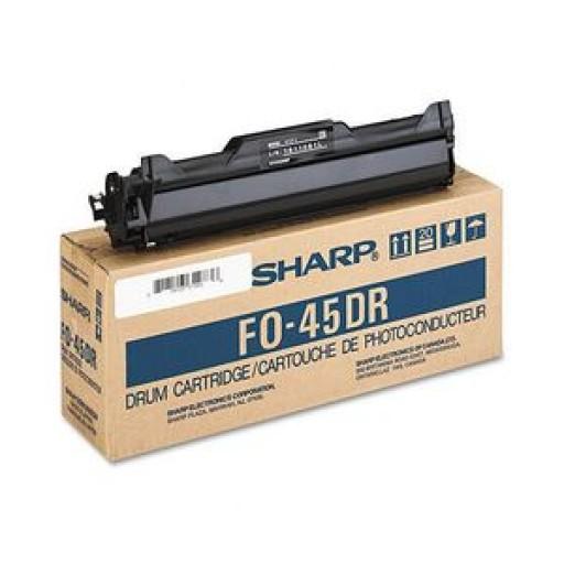 Sharp FO45DR Drum Unit - Black Genuine