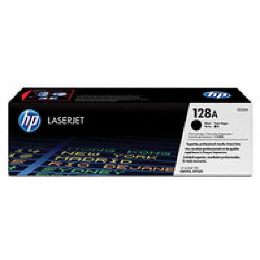 HP 128A CM1415, CP1525 Toner Cartridge - Black Genuine (CE320A)