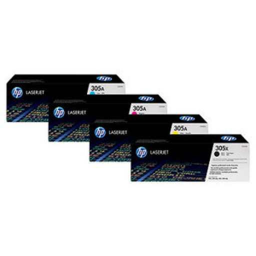 HP 305 HP M351, M375, M451, M475 Toner Cartridge - Value Pack Genuine