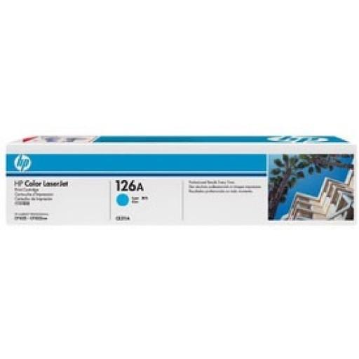 HP, CE311A, Toner Cartridge- Cyan, CP1025, Pro 100- Original