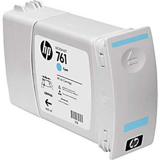 HP CM994A, 761 Ink Cartridge, Designjet T7100 - Cyan Genuine