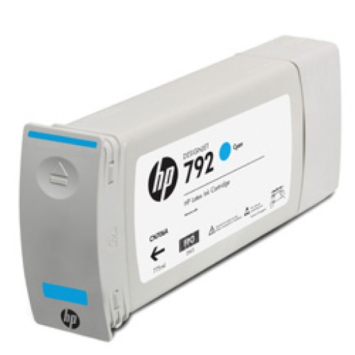 HP CN706A, 792 Ink Cartridge Cyan, Designjet L28500- Original