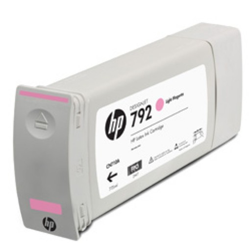 HP CN710A, 792 Ink Cartridge, Designjet L28500 - Light Magenta Genuine
