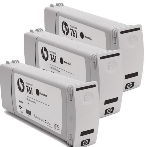 HP CR275A, 761 Ink Cartridge, Designjet T7100 - Matte Black Multipack Genuine
