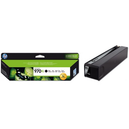 HP Officejet Pro X551dw Ink Cartridges - HC Black Genuine, CN625AE