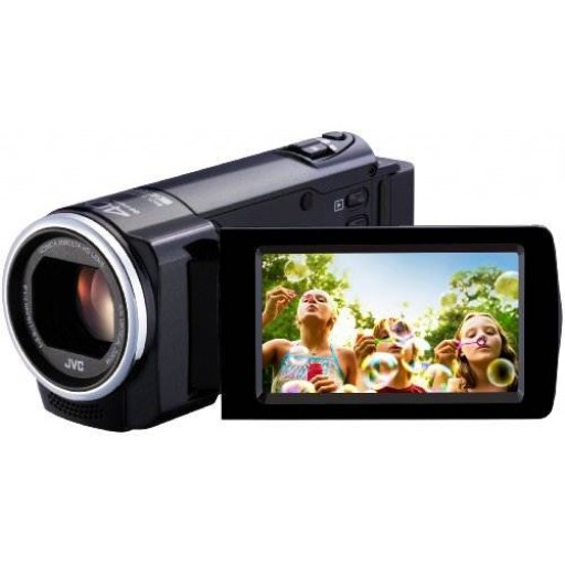 JVC GZ-E15, Silver Digital Camcorder