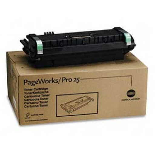 Konica Minolta 1710435001 Toner Cartridge Black, PagePro 25, 25N  - Genuine