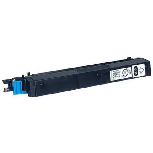 Konica Minolta 1710530-001 Toner Cartridge Black QMS, Magicolor 7300 -  Genuine