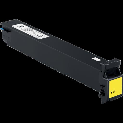 Konica Minolta A0D7253, Toner Cartridge Yellow, Magicolor 8600, 8650- Original