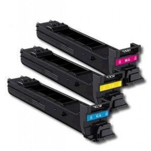 Konica Minolta A0DK452, A0DK352, A0DK252, Toner Cartridge HC  Value Pack, Magicolour 4650DN, 4690MF, 4695MF- Original