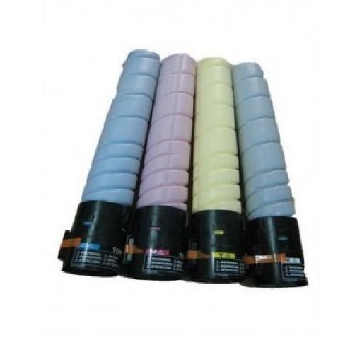 Konica Minolta TN216 Toner Cartridge Value Pack 4 Colour, Bizhub C220, C280 - Genuine