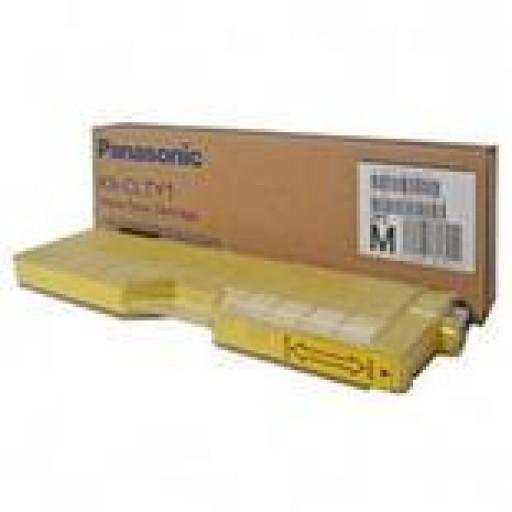 Panasonic KX-CLTY1B, Toner Cartridge Yellow, KX-CL500, CL510- Original