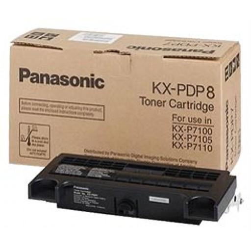Panasonic KXP8415 Toner Cartridge - Cyan Genuine (KXPDPC8)