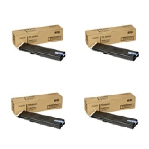 Kyocera Mita TK-800 Toner Cartridge Value Pack, FS-C8008N - 4 Colour Genuine