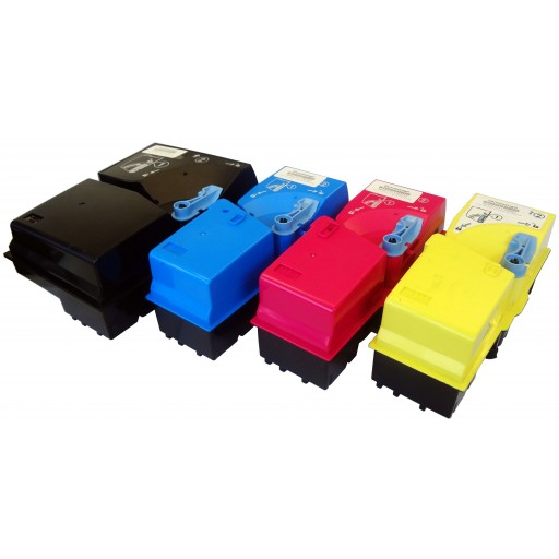 Kyocera TK-825 Toner Cartridge Value Pack, KM C2520, C2525, C3225, C3232, C4035 - 4 Colour Genuine