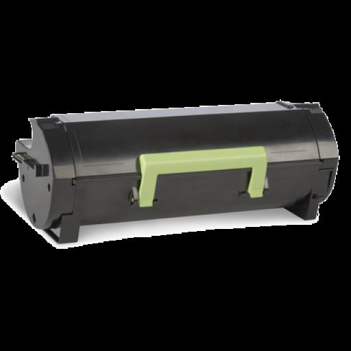 Lexmark 50F0UA0, 500UA Toner Cartridge, MS510, MS610 - Ultra HC Black Genuine