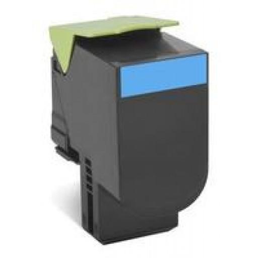 Lexmark 70C20C0, CS310/410/510 Return Program Toner Cartridge - Cyan
