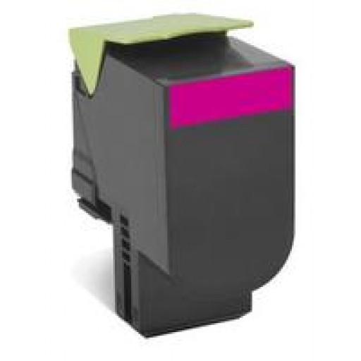 Lexmark 70C20M0, CS310/410/510 Return Program Toner Cartridge - Magenta