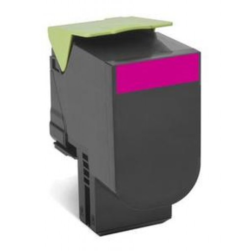 Lexmark 70C2HM0, 702HM Return Program Toner Cartridge, CS310, CS410, CS510 - HC Magenta Genuine