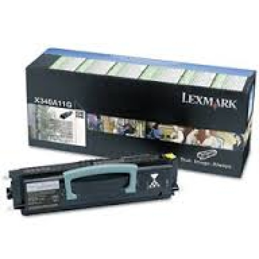 Lexmark X340H21G Toner Cartridge - HC Black Genuine