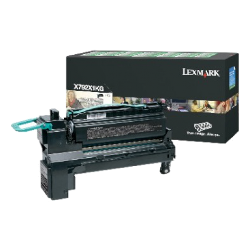 Lexmark X792X1KG, X792 Toner Cartridge 20k - Black