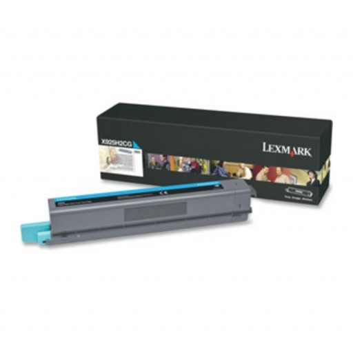 Lexmark X925H2CG, Toner Cartridge- Cyan, X925- Original