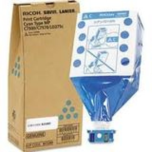 Ricoh 841358, Toner Cartridge Cyan, MP C6501, C7501- Original