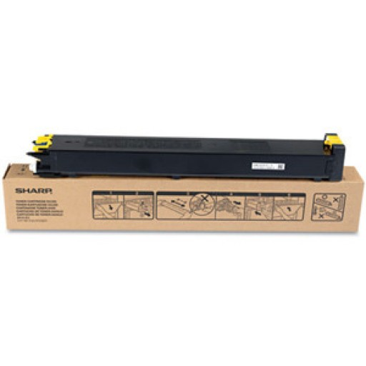 Sharp MX23GTYA, Toner Cartridge Yellow, MX-2010, 2310, 3111- Original