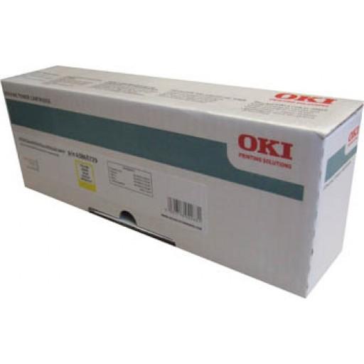 OKI, 43865729, Toner Cartridge Yellow, Es2032, ES2232, ES2632, ES5460- Original