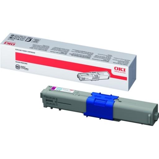 OKI 44469705, Toner Cartridge Magenta, C510, C511, C530, C531- Genuine