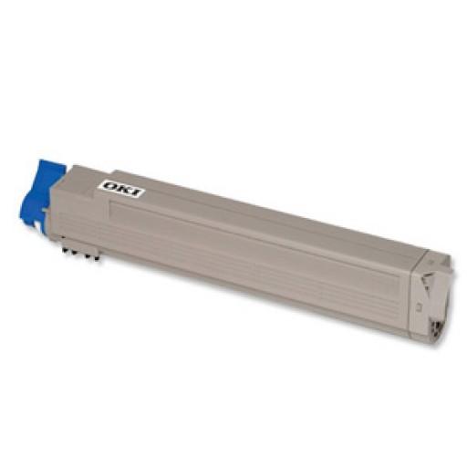 OKI 44643001 Toner Cartridge, C801, C821 - Yellow Genuine