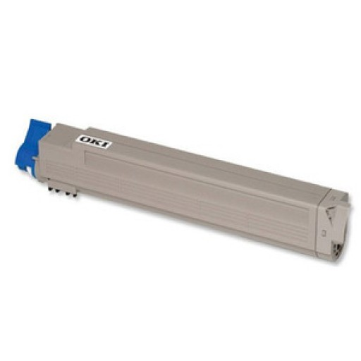 OKI 44643003 Toner Cartridge, C801, C821 - Cyan Genuine