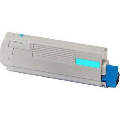 OKI 45396303, Toner Cartridge Cyan, MC760, 770, 780- Genuine