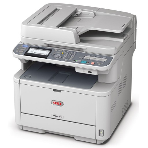OKI MB451w A4 Mono Multifunction Printer