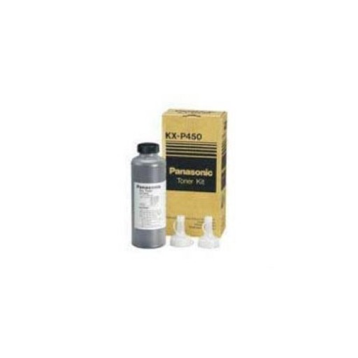 Panasonic KX-P450 Toner Cartridge, KX P4450, P4451, P4455 - Black Genuine