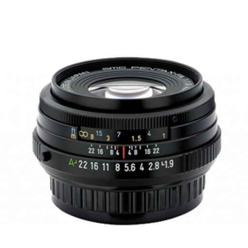 Pentax Imaging 43mm f/1.9 Limited, Black