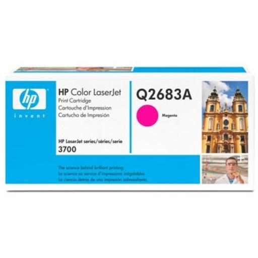 HP Q2683A, Toner Cartridge HC Magenta, 3700- Original
