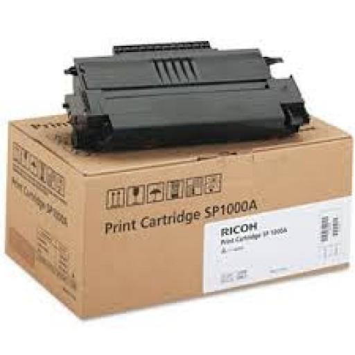 Ricoh 413460, Toner / Drum Print Cartridge Black, SP1000A, 1180L, SP1000SF - Genuine