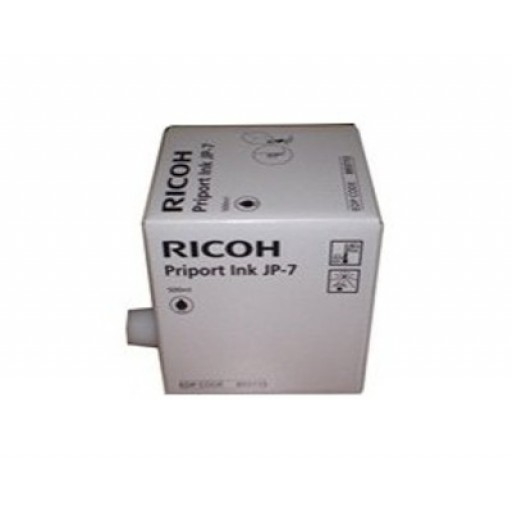 Ricoh 817161 Ink Cartridge Black, Type HQ90, HQ7000, HQ9000 - Genuine