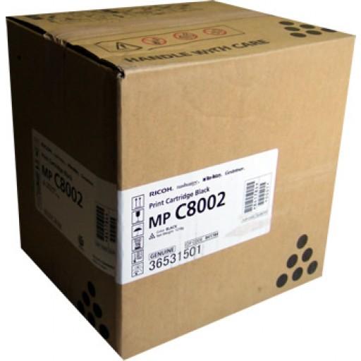 Ricoh 841784, Toner Cartridge Black, MP C8002, C6502- Original