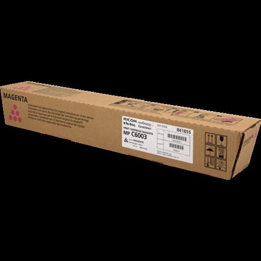 Ricoh 841855, Toner Cartridge Magenta, MP C4503, C5503, C6003- Original