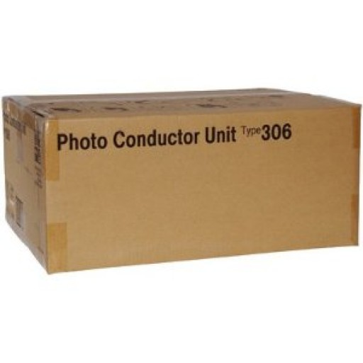 Ricoh 400490 Photoconductor Unit Black, Type 306, AP305, AP306, AP505 - Genuine