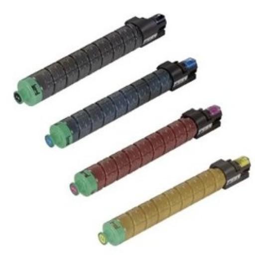 Ricoh 841504, 841505, 841506, 841507, Toner Cartridge Value Pack, MP C2051, C2551- Original